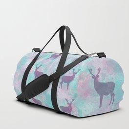Deer Silhouette Duffle Bag
