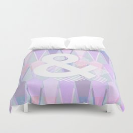 Magnificent Opposition Duvet Cover