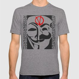 V for Fsociety T-shirt