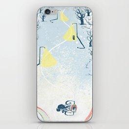 Winter Cycling iPhone Skin