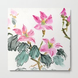 Azaleas of Childhood Metal Print