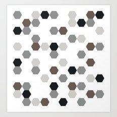 Graphic_Cells Art Print