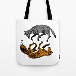 WOLF-FOX Tote Bag
