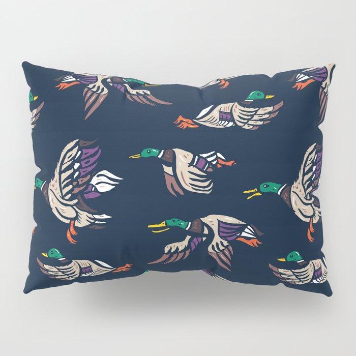 Male Mallard ducks Pillow Sham