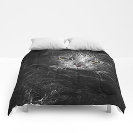 Lunar Essence of the Siberian Kitty Cat Comforters