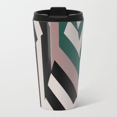ASDIC/SONAR Dazzle Camouflage Graphic Design Travel Mug
