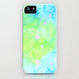 Starry Night Mint Tea iPhone Case