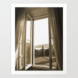 Another window in Tuscany Art Print