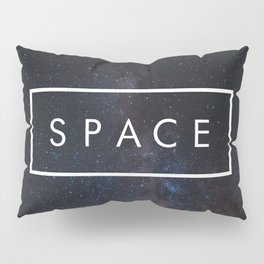 The Word SPACE Pillow Sham