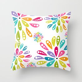 Mum Pop Deux Throw Pillow
