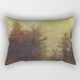 Fall Rust Rectangular Pillow