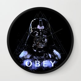 Obey the Dark Lord Wall Clock