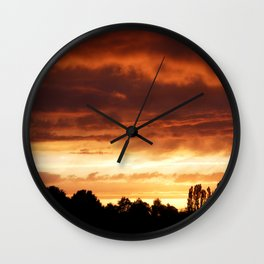 Ever-Changing Sky No1 Wall Clock