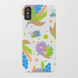 Picnic Pals bouquet in citrus iPhone Case