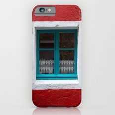 The blue window and the red wall iPhone 6s Slim Case