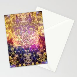 Fractalic Pineal Metatron | Foundant Dusa | Melting Soul Stationery Cards