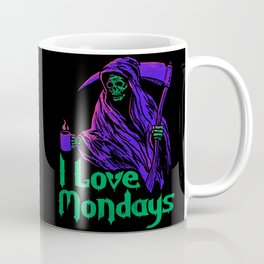 I Love Mondays Coffee Mug