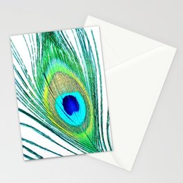 Peacock - Peacock Feather - Peacock Tail Feather Stationery Cards