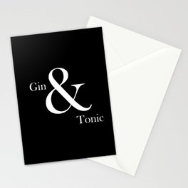 Gin & Tonic #2 Stationery Cards