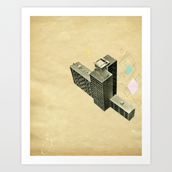 The Modern World Art Print