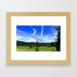 Earth to Sky Framed Art Print
