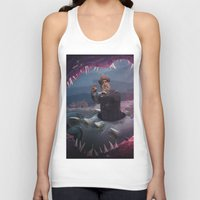 finding nemo Tank Tops featuring Captain Nemo by Josmen9016