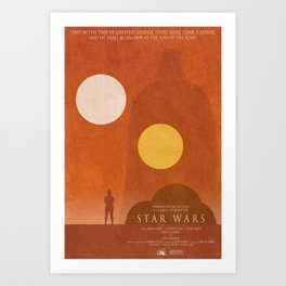 ANH Movie Poster Art Print