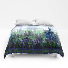 Plaid Forest Comforters