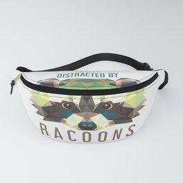 Raccoon Pet Parent Fanny Pack