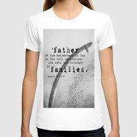 scripture T-shirts featuring Adoption Scripture Art Psalm 68:5-6 by KimberosePhotography
