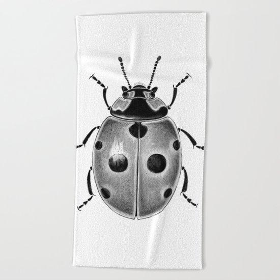 Beetle 03 Beach Towel