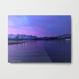 Ornes, Norway Metal Print