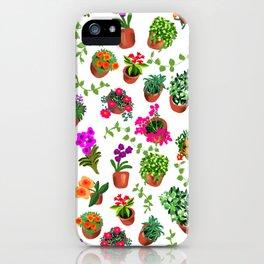 Miami Garden iPhone Case