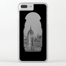 View of Parliament. Clear iPhone Case
