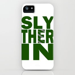 Slytherin House Pride iPhone Case
