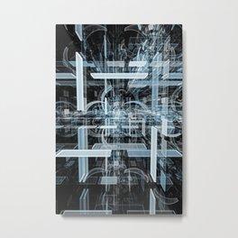 Kleinian Highway v2 Metal Print