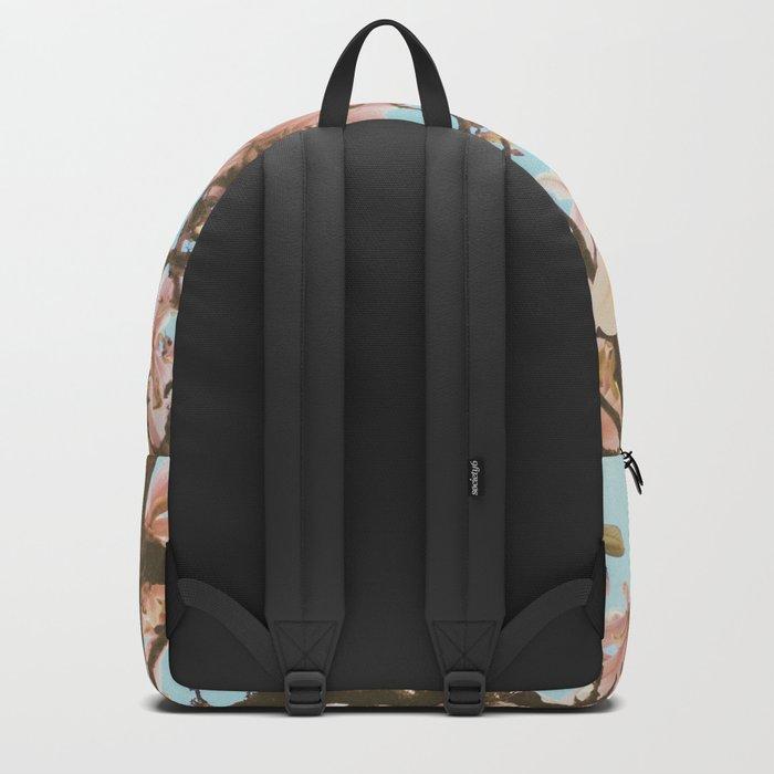 Pink Magnolia Backpack