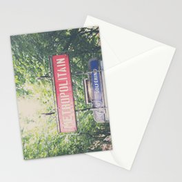 Paris metropolitan ... Stationery Cards