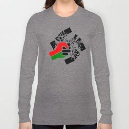 Obliterate Hate w/ Black Power (women) Long Sleeve T-shirt