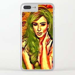 Beauty Of Kim Clear iPhone Case