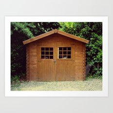 French Shed Art Print