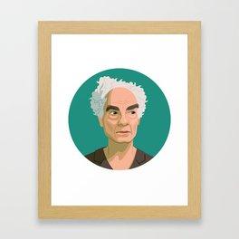 Queer Portrait - Merce Cunningham Framed Art Print