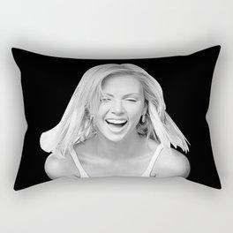 Charlize Theron - Celebrity Art Rectangular Pillow