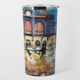 Denver's Union Station Travel Mug