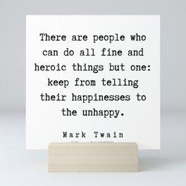 96      Mark Twain Quotes   190730 Mini Art Print