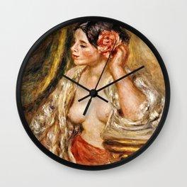 Pierre-Auguste - Gabrielle A Sa Coiffurerenoir  . Wall Clock