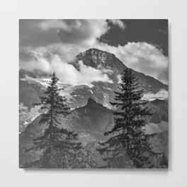 Jungfrau Mountauin. 4.158 Meters. Swithzerland Alps Metal Print