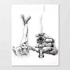 Smoking Gun Canvas Print