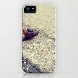 Snailing Around iPhone Case