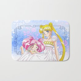 Double Moon Bath Mat